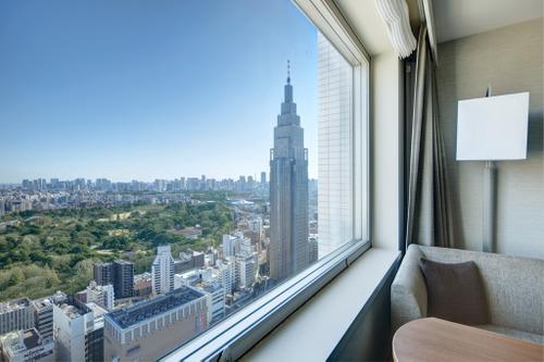 小田急ホテルセンチュリーサザンタワーからの眺め