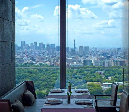 ザ・レストラン by アマンの窓際の席