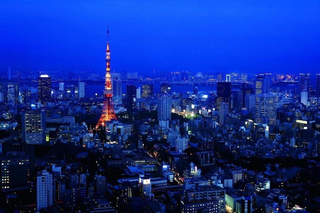 ザ・リッツ・カールトン東京の夜景
