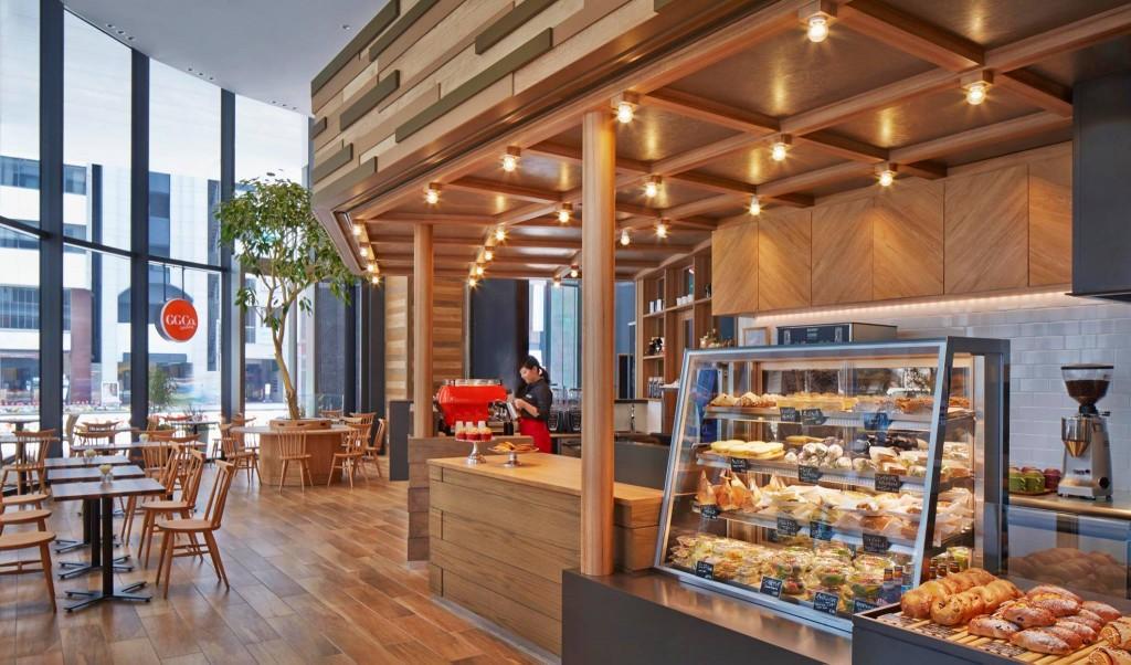 コートヤード・バイ・マリオット 東京ステーションのカフェ