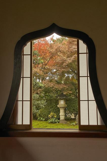 天得院の華頭窓