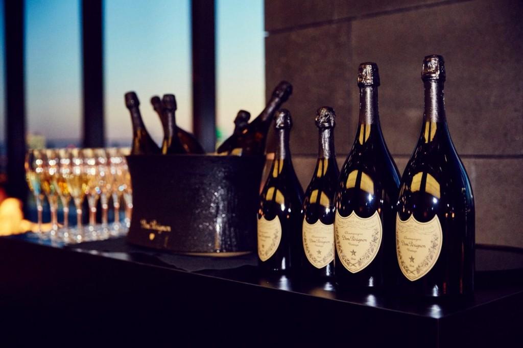 アマン東京のシャンパン