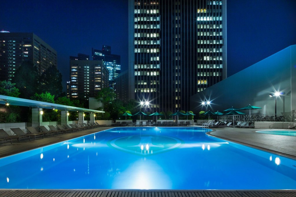 ANAインターコンチネンタルホテル東京のナイトプール