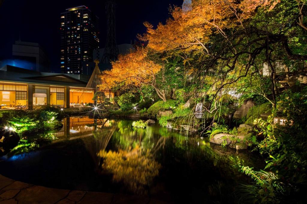 ANAインターコンチネンタルホテル東京の雲海の庭園