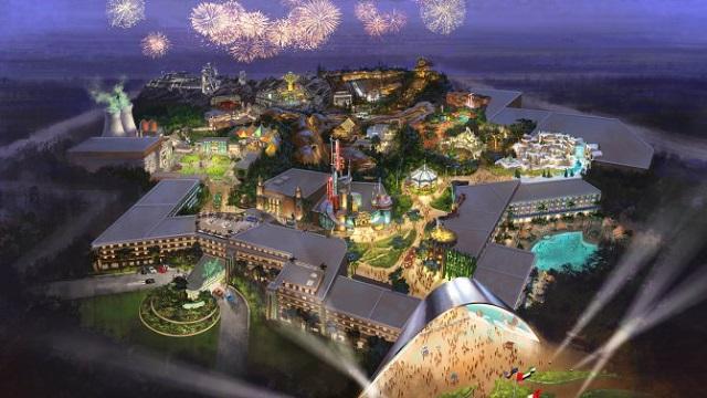 建設費1兆円超え!世界が泣いた映画『タイタニック』のテーマパークがドバイに