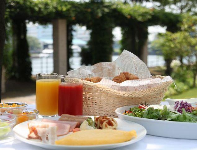 第一ホテル東京シーフォートの朝食