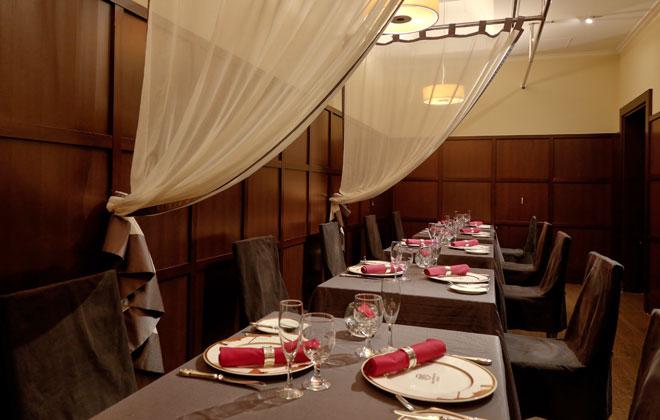 ホテルモントレ銀座のレストラン