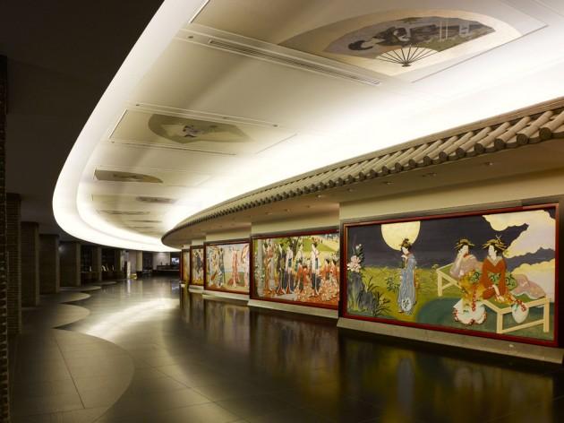 目黒雅叙園の回廊