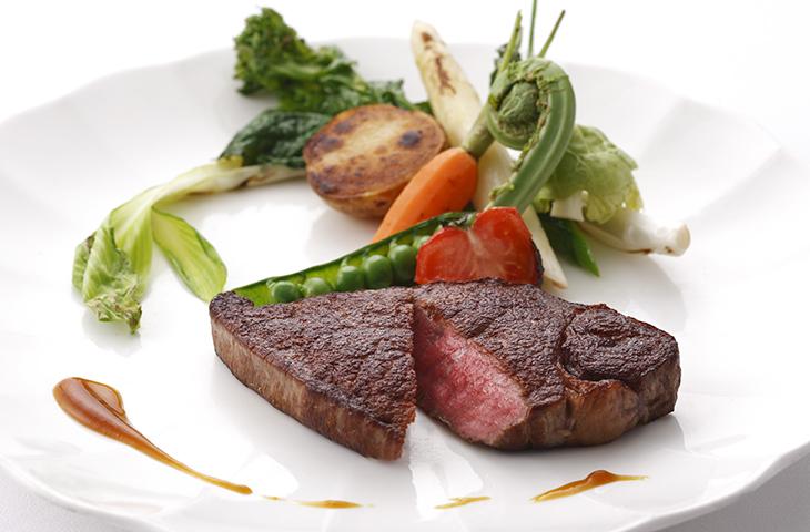 ホテルニューオータニ ザ・メインの肉料理