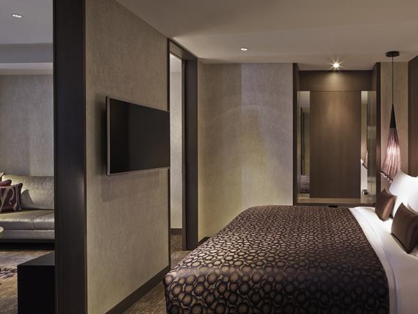 東京マリオットホテルのスイート