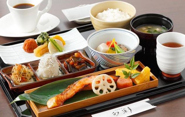 E 渋谷 レストラン 日本料理「旬彩」 朝食