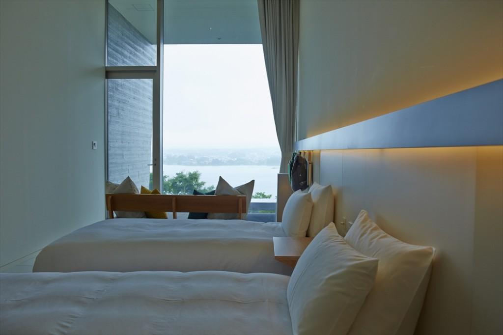 星のや富士の客室