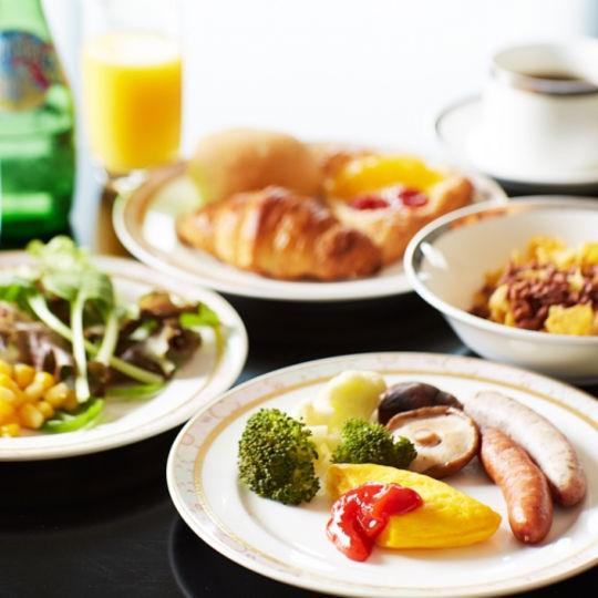 グランドプリンスホテル新高輪の朝食