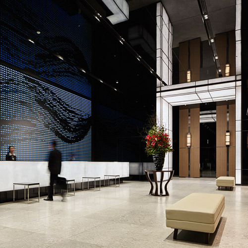 ミレニアム 三井ガーデンホテル 東京のロビー
