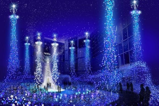 40万人が感動!「カレッタ汐留イルミネーション2015」が11月19日から開催♪