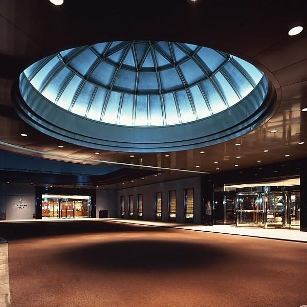 ホテル イースト21東京のエントランス