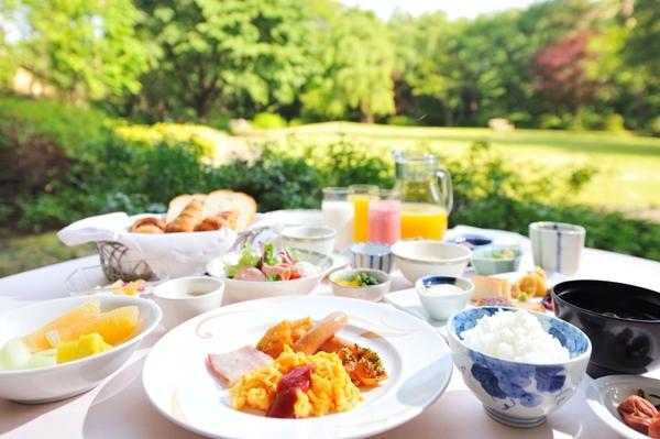フォレスト・イン昭和館の朝食