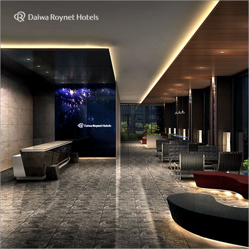 ダイワロイネットホテル銀座のロビー