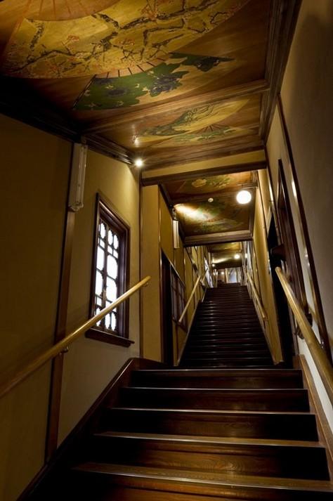 目黒雅叙園の百段階段