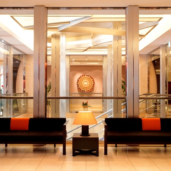 コートヤード・マリオット 銀座東武ホテルのロビー