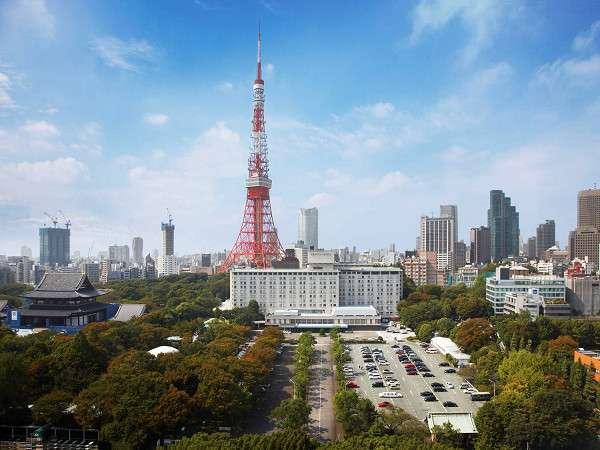 東京プリンスホテルからの眺め