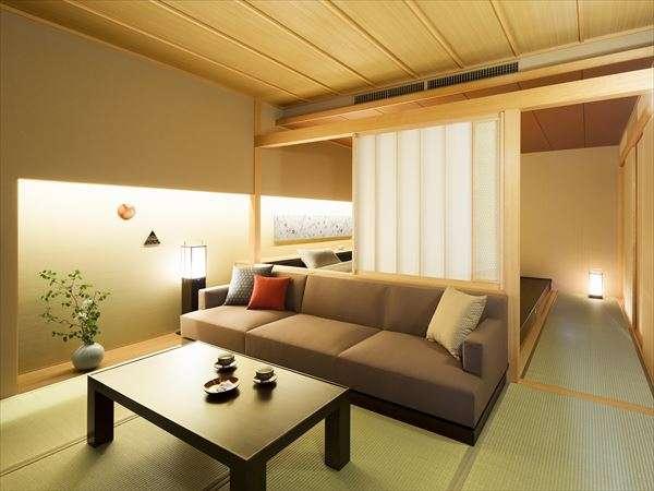 星野リゾート 界 加賀の客室