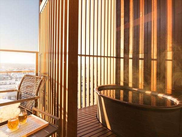 星野リゾート 界 加賀の露天風呂