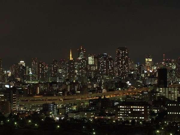 ホテル イースト21東京からの夜景