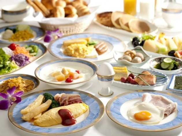 ホテル イースト21東京の朝食