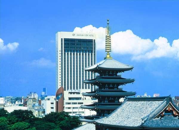 下町浅草に建つ唯一の高層ホテル「浅草ビューホテル」