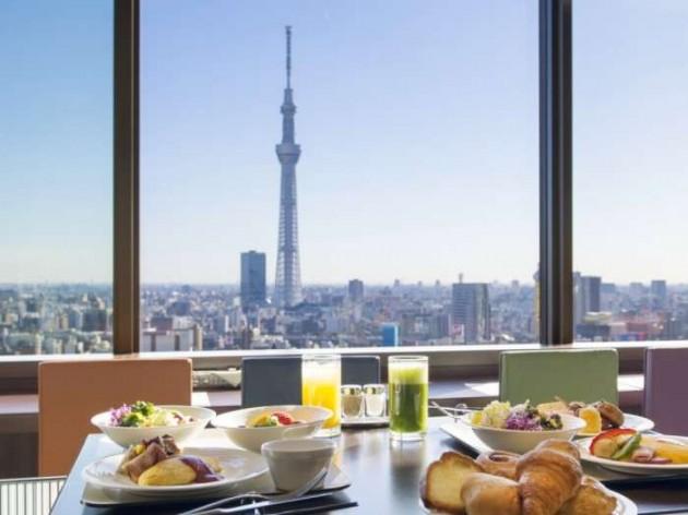 浅草ビューホテルの朝食