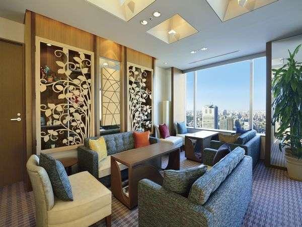東京ドームホテルのラウンジ