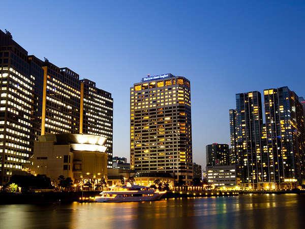 東京湾の美しい夜景を堪能する「第一ホテル東京シーフォート」