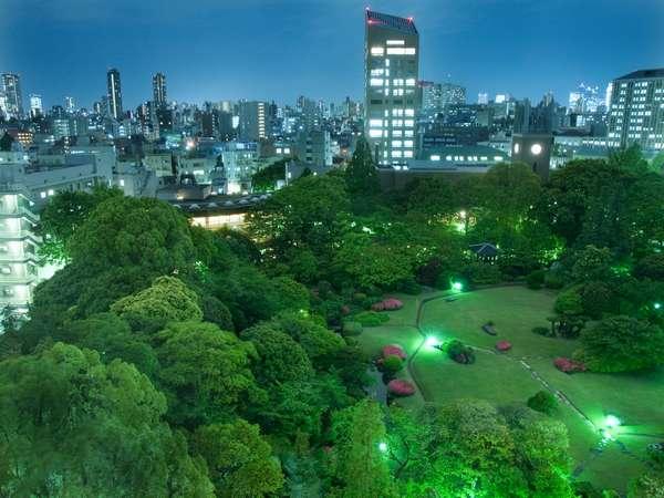 リーガロイヤルホテル東京からの風景