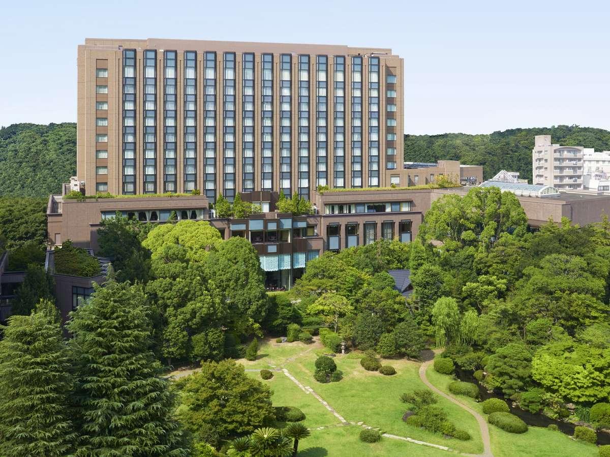1万坪の大隈庭園を望む都会の隠れ家「リーガロイヤルホテル東京」