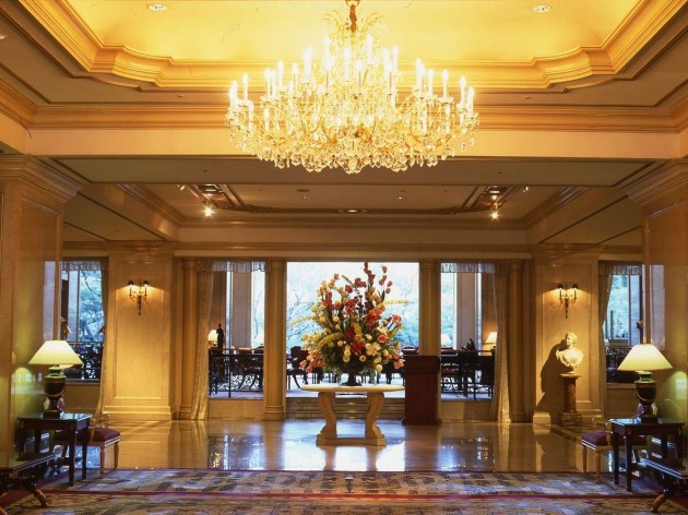 リーガロイヤルホテル東京のロビー