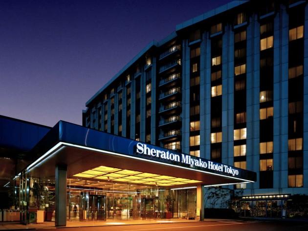豊かな緑に恵まれた白金台の「シェラトン都ホテル東京」