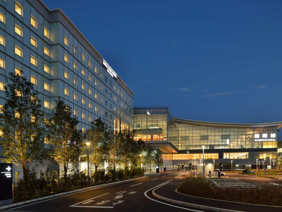 国際線旅客ターミナル唯一のホテル「ロイヤルパーク ホテル ザ 羽田」