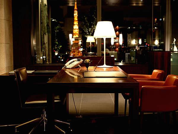 パークホテル東京のロビー