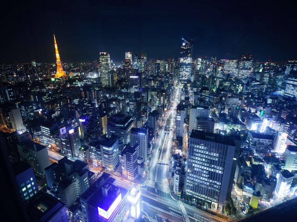 パークホテル東京の夜景
