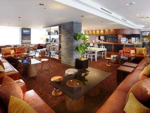 品川プリンスホテル Nタワーのラウンジ