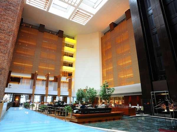 ストリングスホテル東京インターコンチネンタルのロビー