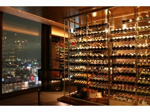 新宿プリンスホテルのワインセラー