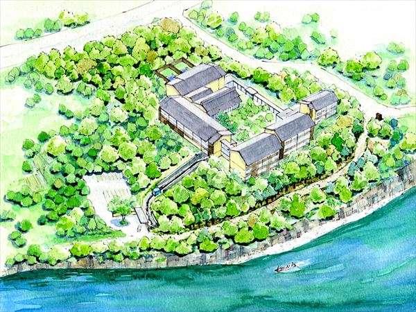 星野リゾート 界 鬼怒川の全貌図