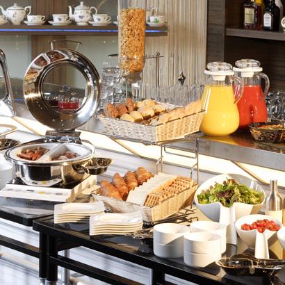 ホテルトラスティ 東京ベイサイドの朝食
