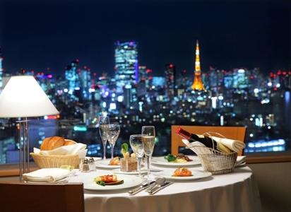 セルリアンタワー東急ホテルでの食事
