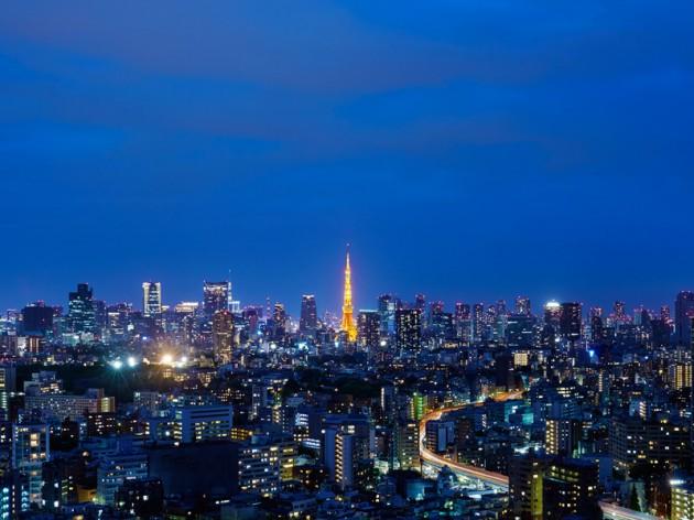 ウェスティンホテル東京の夜景