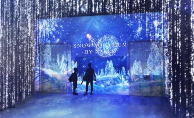 SNOW AQUARIUM by NAKEDの入り口