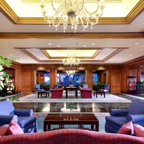 ホテル椿山荘東京のロビー