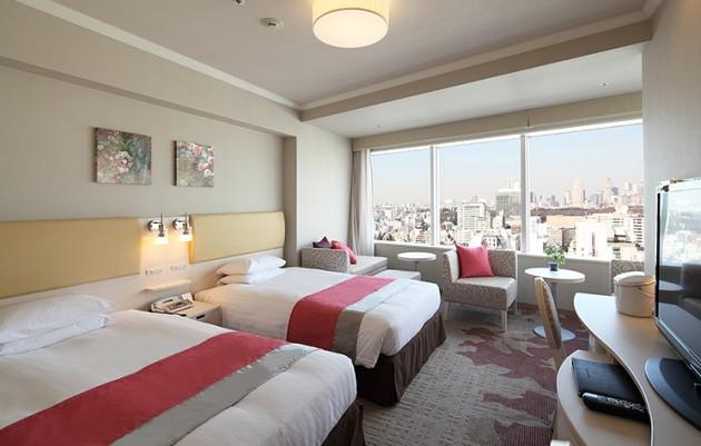 渋谷エクセルホテル東急の客室